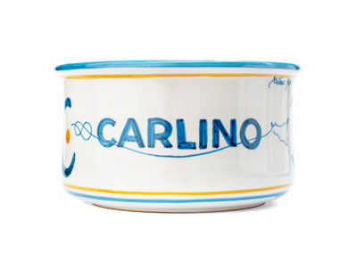 Vaso in ceramica per latta da kg. 5