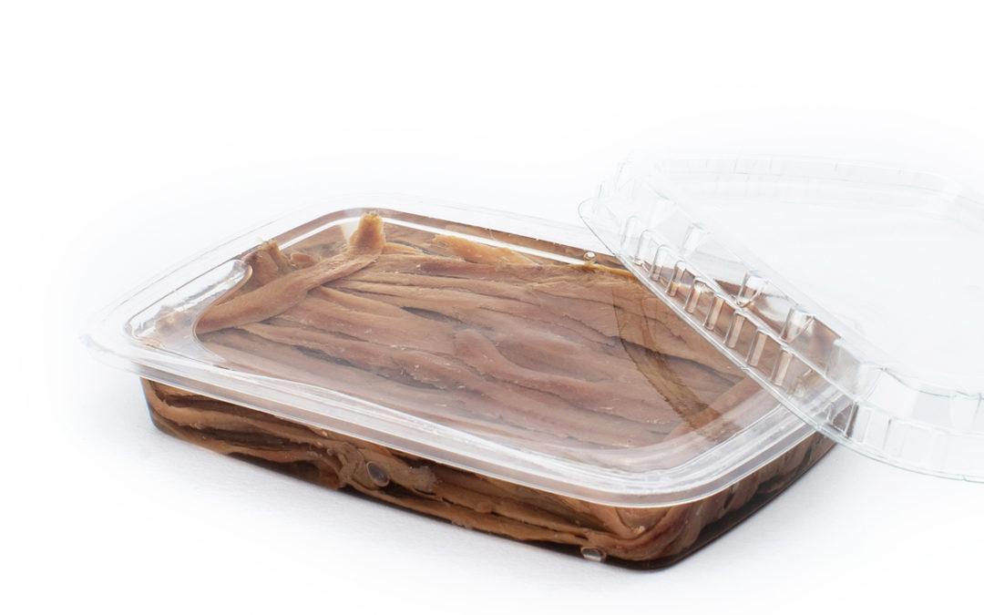 Filetti di acciughe gr. 200 in vaschetta