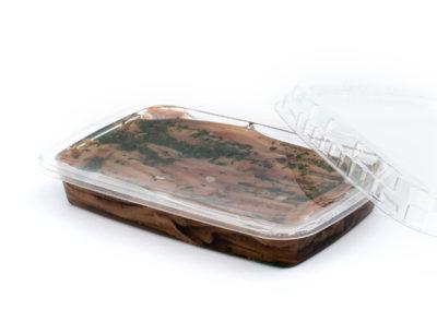 Filetti di acciughe gr. 200 con prezzemolo in vaschetta