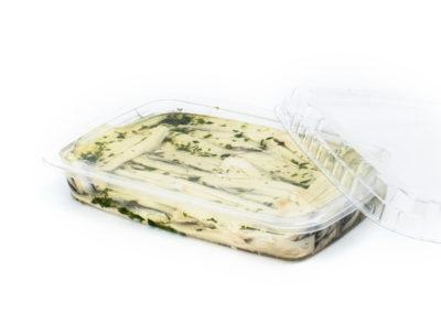 Filetti di acciughe marinate gr. 200 con prezzemolo in vaschetta