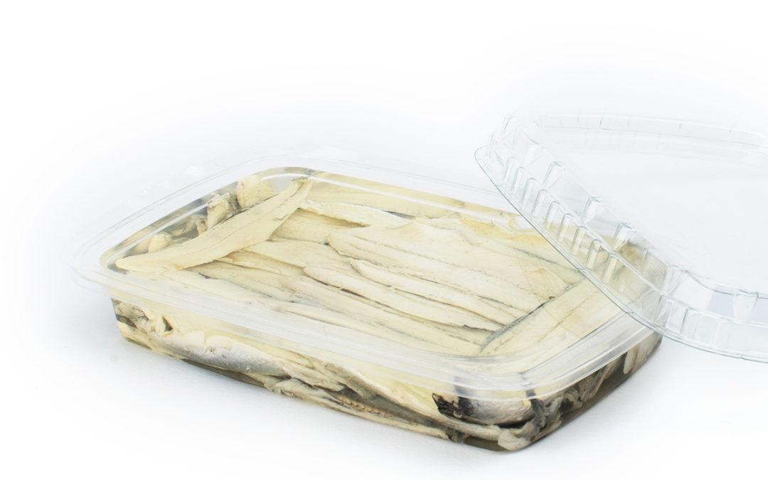 Filetti di acciughe marinate gr. 200 in vaschetta
