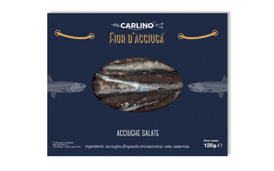 Acciughe salate gr. 125